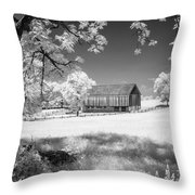 Joseph Poffenberger Farm 8d00232 Throw Pillow