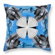 Joseph Priestley Oxygen Throw Pillow