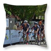 Joseph Rosskopf In The Lead Throw Pillow
