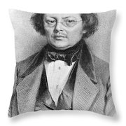 Joseph Skoda (1805-1881) Throw Pillow