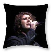 Josh Groban Throw Pillow