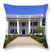 Joshua Hill House In Madison Georgia Throw Pillow