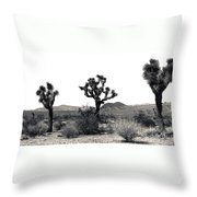 Joshua Tree Dancers Throw Pillow