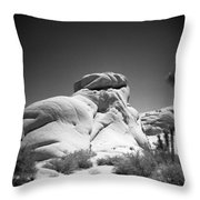 Joshua Tree Holga 6 Throw Pillow