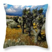 Joshuas And Sage Throw Pillow