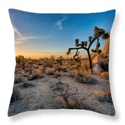 Joshua's Sunset Throw Pillow