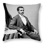 Josiah Thomas Walls (1842-1905) Throw Pillow