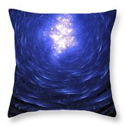 Journey Back To The Surface Throw Pillow