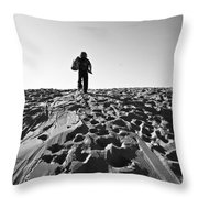 Journey Begins Here Throw Pillow