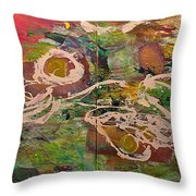 Journey Forth Throw Pillow