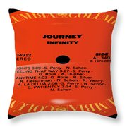 Journey - Infinity Side 1 Throw Pillow