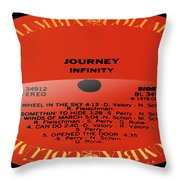 Journey - Infinity Side 2 Throw Pillow