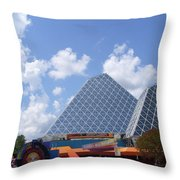 Journey Into Imagination With Figment Throw Pillow
