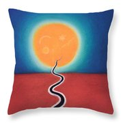 Journey Of Transformation Throw Pillow
