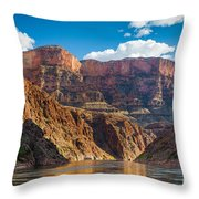 Journey Through The Grand Canyon Throw Pillow by Inge Johnsson