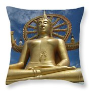 Journey To Enlightenment Throw Pillow