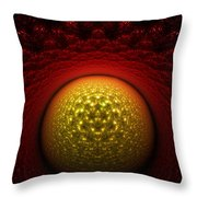 Journey To The Center Throw Pillow