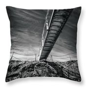 Journey To The Centre Of The Earth Throw Pillow