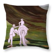 Journey Together Throw Pillow