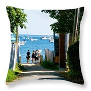 Journey's End Throw Pillow