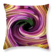 Jowey Gipsy Twirls Throw Pillow