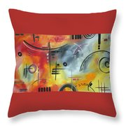 Joy And Happiness By Madart Throw Pillow