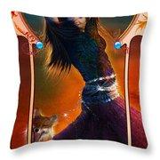 Joy Faith Hope Love IIi Throw Pillow