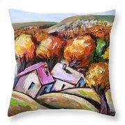 Joy Of Fall Throw Pillow