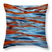 Joy Of Pain Throw Pillow by Donna Blackhall