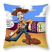 Joy Story Throw Pillow