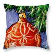 Joy Throw Pillow by Vickie Warner