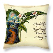 Joyful Easter Throw Pillow