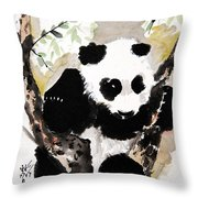 Joyful Innocence Throw Pillow