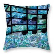 Joyful - Ocean Throw Pillow