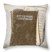 Joyful Praise Throw Pillow