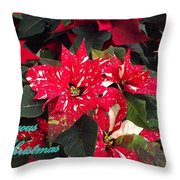 Joyous Christmas Throw Pillow