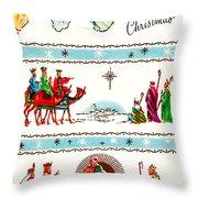 Joyous Christmas Throw Pillow