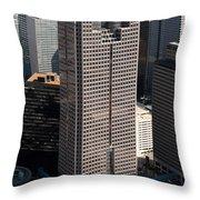 Jp Morgan Chase Tower Dallas Throw Pillow