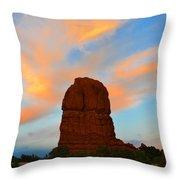 Lone Butte Throw Pillow