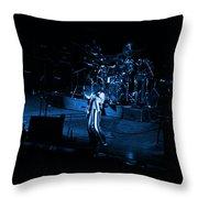 Jt #10 In Blue Throw Pillow