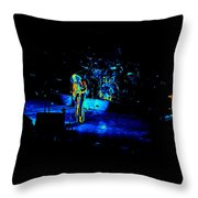 Jt #38 Enhanced In Cosmicolors Throw Pillow