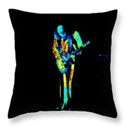 Jt #67 In Cosmicolors Throw Pillow