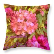 Jude 1 21 Throw Pillow
