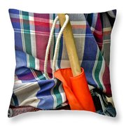 Judge Rodeo Throw Pillow