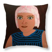 Judy Throw Pillow