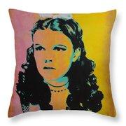Judy Garland Throw Pillow