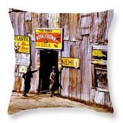 Juke Joint Throw Pillow