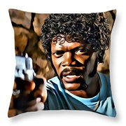 Jules Winnfield Throw Pillow