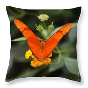 Julia Butterfly 1 Throw Pillow
