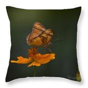 Julia Butterfly Throw Pillow